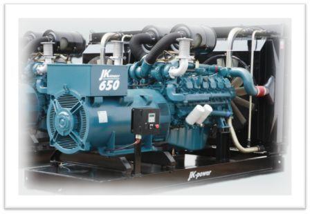 Genset JK-Power 60 - 750 kVA